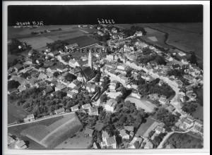ZZ-4720/ Velden Bayern Foto seltenes Luftbild 1938 18 x 13 cm