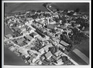 ZZ-4721/ Velden Bayern Foto seltenes Luftbild 1938 18 x 13 cm