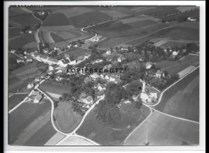 ZZ-4722/ Eberspont Velden Bayern Foto seltenes Luftbild 1938 18 x 13 cm