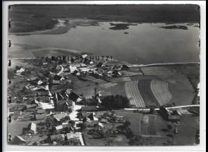 ZZ-4727/ Neubäu bei Roding Foto seltenes Luftbild 1937 18 x 13 cm