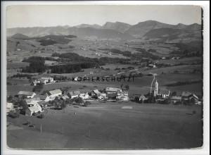 ZZ-4736/ Oberreute Foto seltenes Luftbild 1935 18 x 13 cm