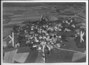ZZ-4737/ Paunzhausen Foto seltenes Luftbild ca.1935 18 x 13 cm