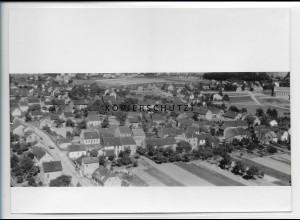 ZZ-4892/ Schaffhausen bei Wadgassen Foto seltenes Luftbild 1935 18 x 13 cm