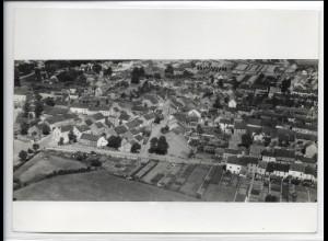 ZZ-4891/ Ensdorf bei Saarlautern Foto seltenes Luftbild ca.1938 18 x 13 cm