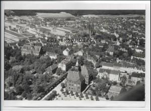 ZZ-4886/ Dillingen Saar Foto seltenes Luftbild ca.1938 18 x 13 cm