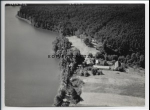 ZZ-5208/ Tornow Foto seltenes Luftbild 18 x 13 cm 1936