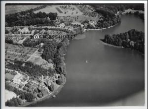 ZZ-5026/ Egsdorf bei Teupitz Foto seltenes Luftbild 1939 18 x 13 cm