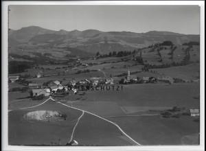 ZZ-4851/ Oberreute Foto seltenes Luftbild 1935 18 x 13 cm