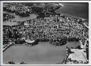 ZZ-4842/ Stralsund Foto seltenes Luftbild 1939 18 x 13 cm