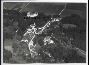 ZZ-5015/ Kronwinkl bei Eching Foto seltenes Luftbild ca.1938 18 x 13 cm