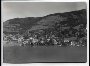 ZZ-4994/ Schliersee Foto seltenes Luftbild 1936 18 x 13 cm