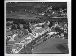 ZZ-5022/ Untermarchtal Foto seltenes Luftbild 1938 16 x 13 cm