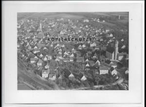 ZZ-4991/ Ehingen a. Donau Foto seltenes Luftbild 1935 18 x 13 cm