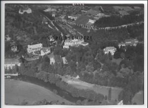 ZZ-4990/ Bad Mergentheim Foto seltenes Luftbild ca.1936 18 x 13 cm