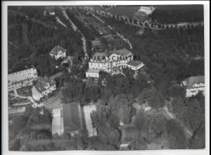 ZZ-4989/ Bad Mergentheim Foto seltenes Luftbild ca.1936 18 x 13 cm