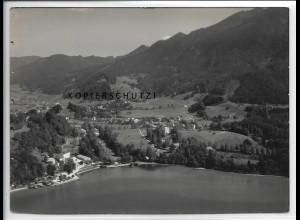 ZZ-4985/ Kochel am See Foto seltenes Luftbild 1936 18 x 13 cm