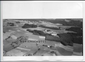 ZZ-4983/ St. Märgen Foto seltenes Luftbild ca.1935 18 x 13 cm