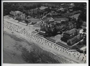 ZZ-5019/ Ostseebad Kühlungsborn Foto seltenes Luftbild 1939 18 x 13 cm