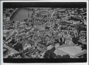 ZZ-5052/ Schwerin Foto seltenes Luftbild 1939 18 x 13 cm