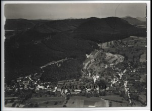 ZZ-5039/ Busenberg Foto seltenes Luftbild ca.1935 18 x 13 cm