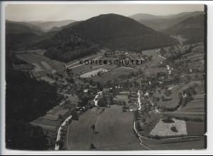 ZZ-5038/ Erlenbach bei Dahn Foto seltenes Luftbild 1937 18 x 13 cm
