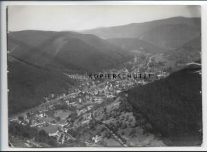 ZZ-5037/ Lambrecht Foto seltenes Luftbild 1935 18 x 13 cm