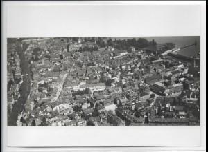 ZZ-4927/ Konstanz Foto seltenes Luftbild ca. 1938 18 x 13 cm