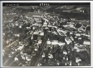 ZZ-4926/ Traunstein Foto seltenes Luftbild 1938 18 x 13 cm