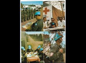 Y19014/ 9 x AK UN-Soldaten Ludowe Wojsko Polskie Polen 1974