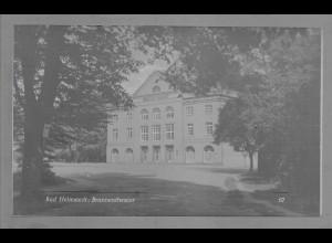Neg6000/ Helmstedt Brunnentheater altes Negativ 50/60er Jahre