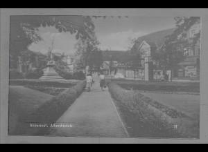 Neg6002/ Helmstedt Albrechtplatz altes Negativ 50/60er Jahre