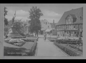 Neg6009/ Helmstedt Albrechtsplatz altes Negativ 50/60er Jahre
