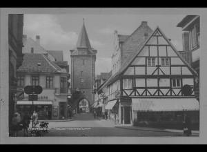 Neg6010/ Helmstedt Hausmannsturm altes Negativ 50/60er Jahre