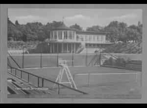 Neg6022/ Helmstedt Tennisplätze altes Negativ 50/60er Jahre