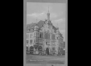 Neg6023/ Helmstedt Rathaus altes Negativ 50/60er Jahre