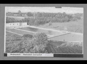 Neg6038/ Hohenwestedt Badeanstalt Ludwigslust altes Negativ 60er Jahre