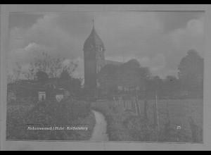 Neg6040/ Hohenwestedt Kirchensteig altes Negativ 50/60er Jahre
