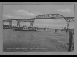 Neg6041/ Hochdonn Kanalhochbrücke Fähre altes Negativ 50er Jahre