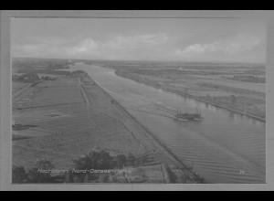 Neg6044/ Hochdonn Nord-Ostsee-Kanal altes Negativ 50er Jahre