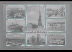 Neg6047/ Helgoland altes Negativ 50/60er Jahre