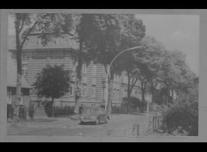 Neg6064/ Geesthacht Buntenskamp VW Käfer altes Negativ 50/60er Jahre
