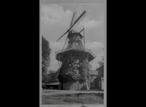 Neg6091/ Emden Frouw Johanna Windmühle altes Negativ 50er Jahre
