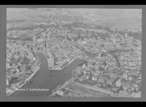 Neg6102/ Emden Luftaufnahme altes Negativ 50/60er Jahre