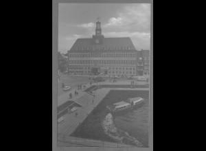 Neg6103/ Emden Rathaus altes Negativ 50/60er Jahre