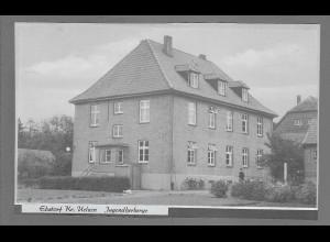 Neg6108/ Ebstorf Kr. Uelzen Jugendherberge altes Negativ 50er Jahre