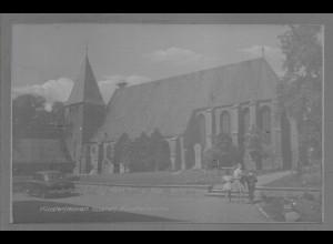 Neg6109/ Klosterflecken Ebstorf Kr. Uelzen Kirche altes Negativ 50er Jahre