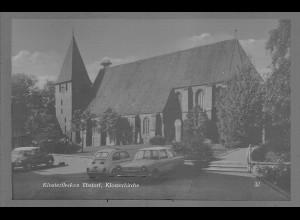 Neg6110/ Klosterflecken Ebstorf Kr. Uelzen Kirche altes Negativ 60er Jahre