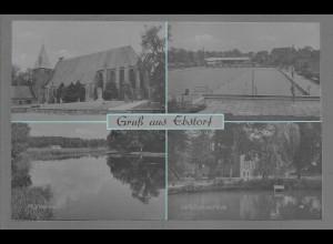 Neg6111/ Ebstorf Kr. Uelzen Waldbad, Landbauschule altes Negativ 60er Jahre
