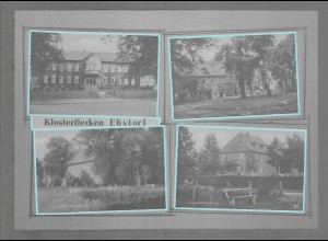 Neg6112/ Ebstorf Kr. Uelzen altes Negativ 60er Jahre