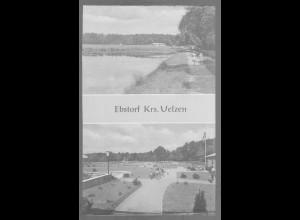 Neg6117/ Ebstorf Kr. Uelzen Waldbad altes Negativ 50/60er Jahre